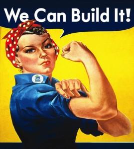 Women Build Logo 2012 Official Web Event