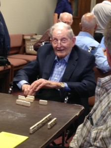 Glenn Johnston on his 103rd birthday
