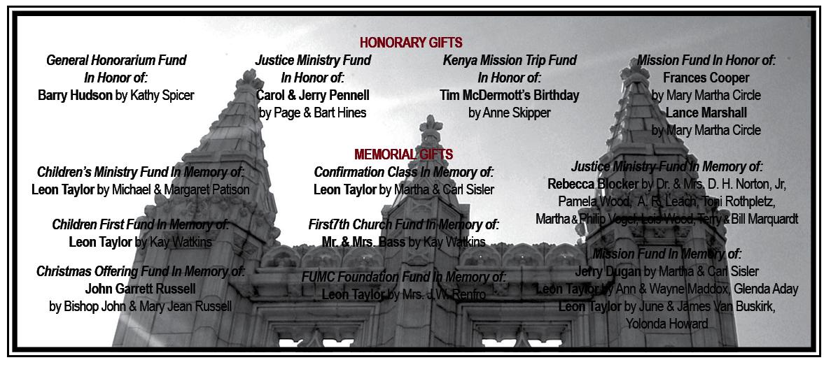 Memorials 12.13.13