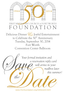 Foundation 50th Save the Date