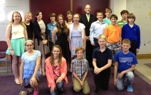 Confirmation group photo