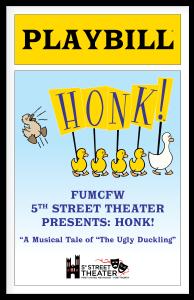 Honk Playbill