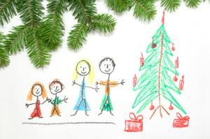 Family Christmas Crayon iStock_000004479457_Small