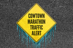Cowtown Marathon Traffic Alert Ice_HS