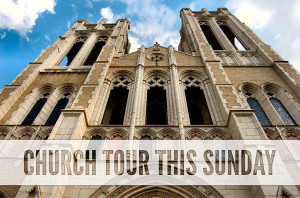 Church Tour This Sunday
