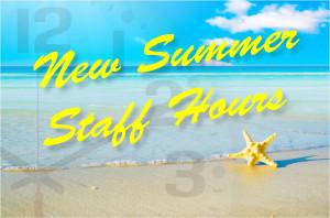 New Summer Staff Hours_HS