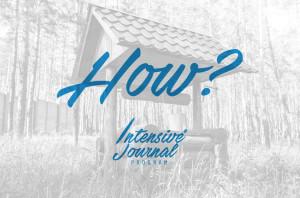 Intensive Journal Program_How_HS