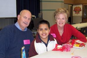 John Howard and Pam Cox and Juan
