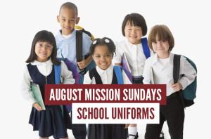 Mission Sundays School Uniforms Aug17_HS