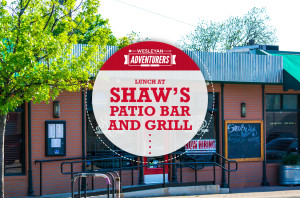 Wesleyan Adventurers Lunch at Shaw's Patio Bar and Grill_HS