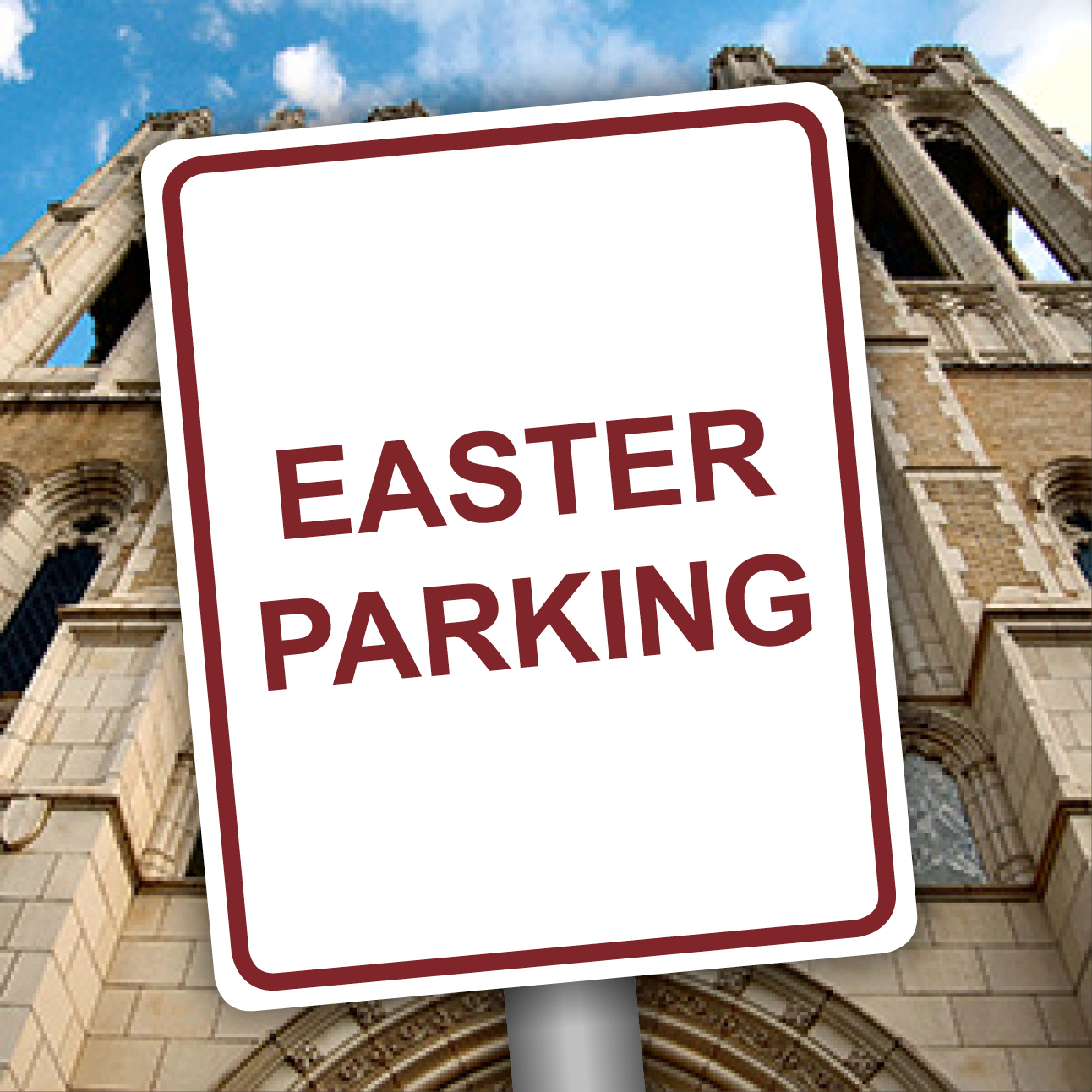 Easter Sunday Parking