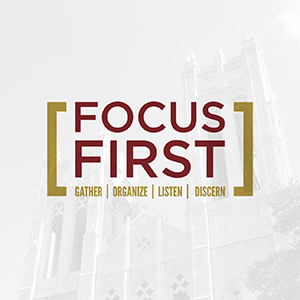 Focus First Report and Recommended Strategic Initiatives