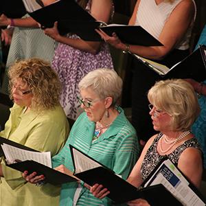 When We Sing We Pray Twice