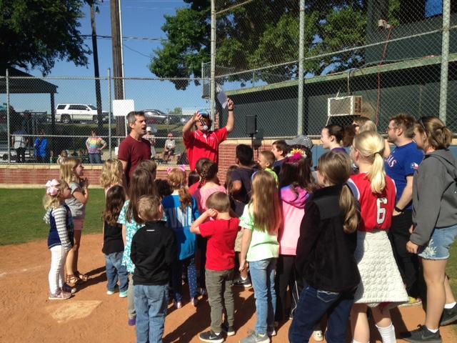 Children's Choirs Sing at Challenger League Baseball Game