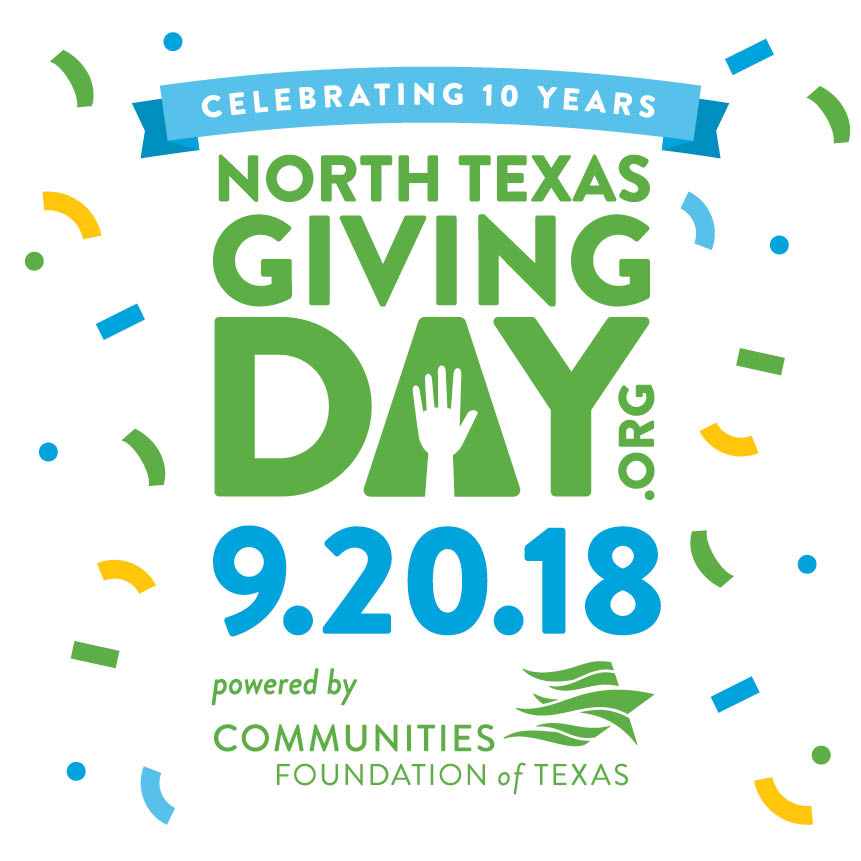North Texas Giving Day is TODAY!