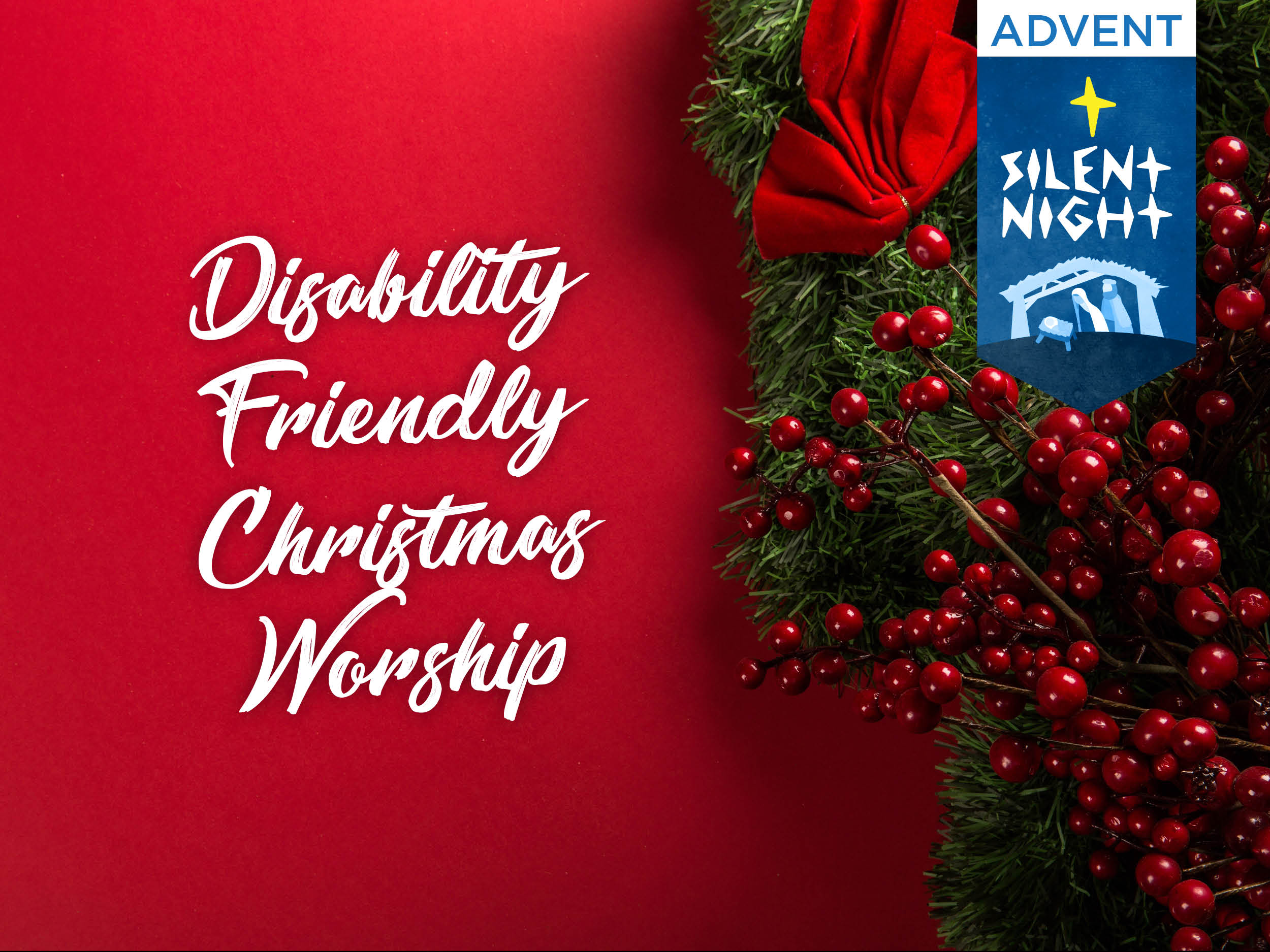 Christmas Worship 2019 Disability Friendly Christmas Worship | First United Methodist