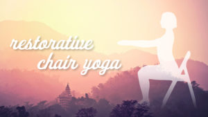 Try Out Our Newest Yoga Offering Restorative Chair Yoga For Free Through February First United Methodist Church Of Fort Worth