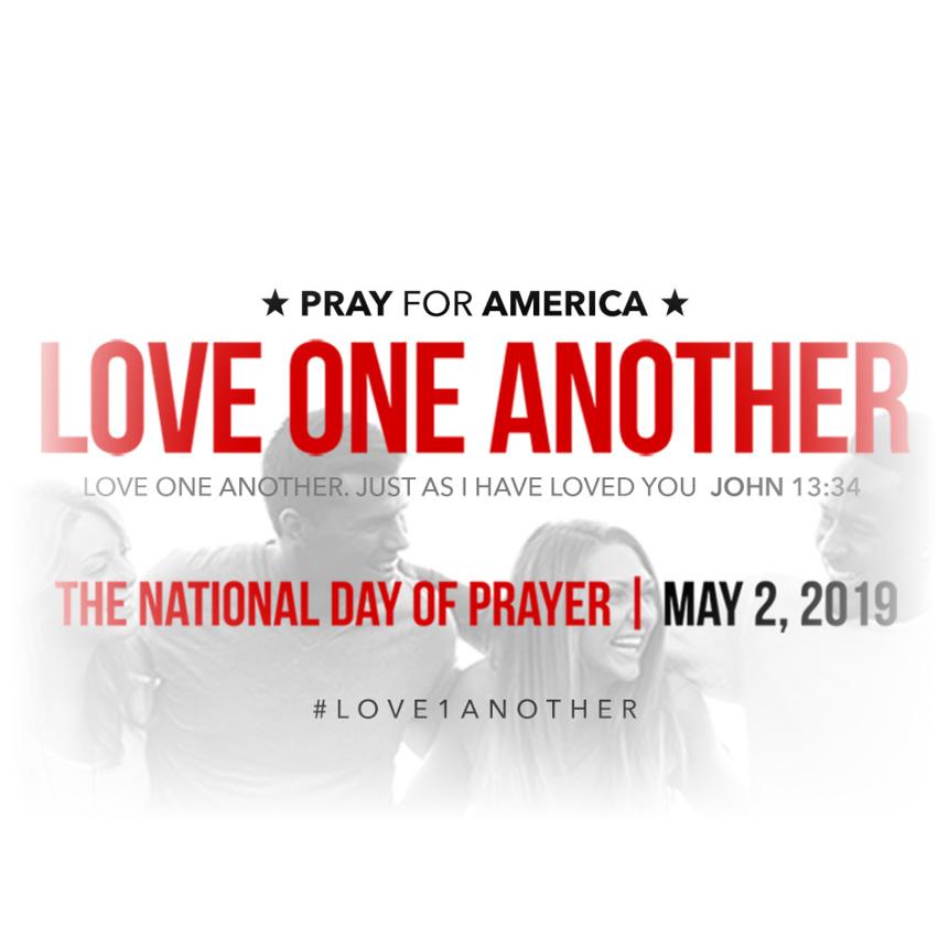 National Day of Prayer May 2 in Burnett Park