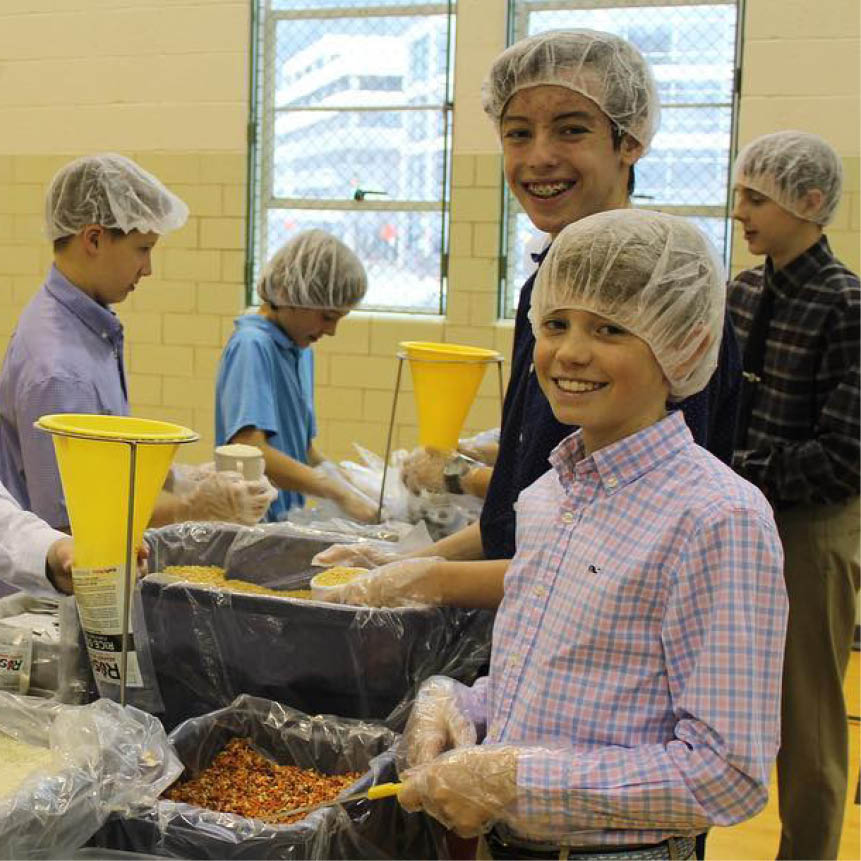 Our Rise Against Hunger — Results!