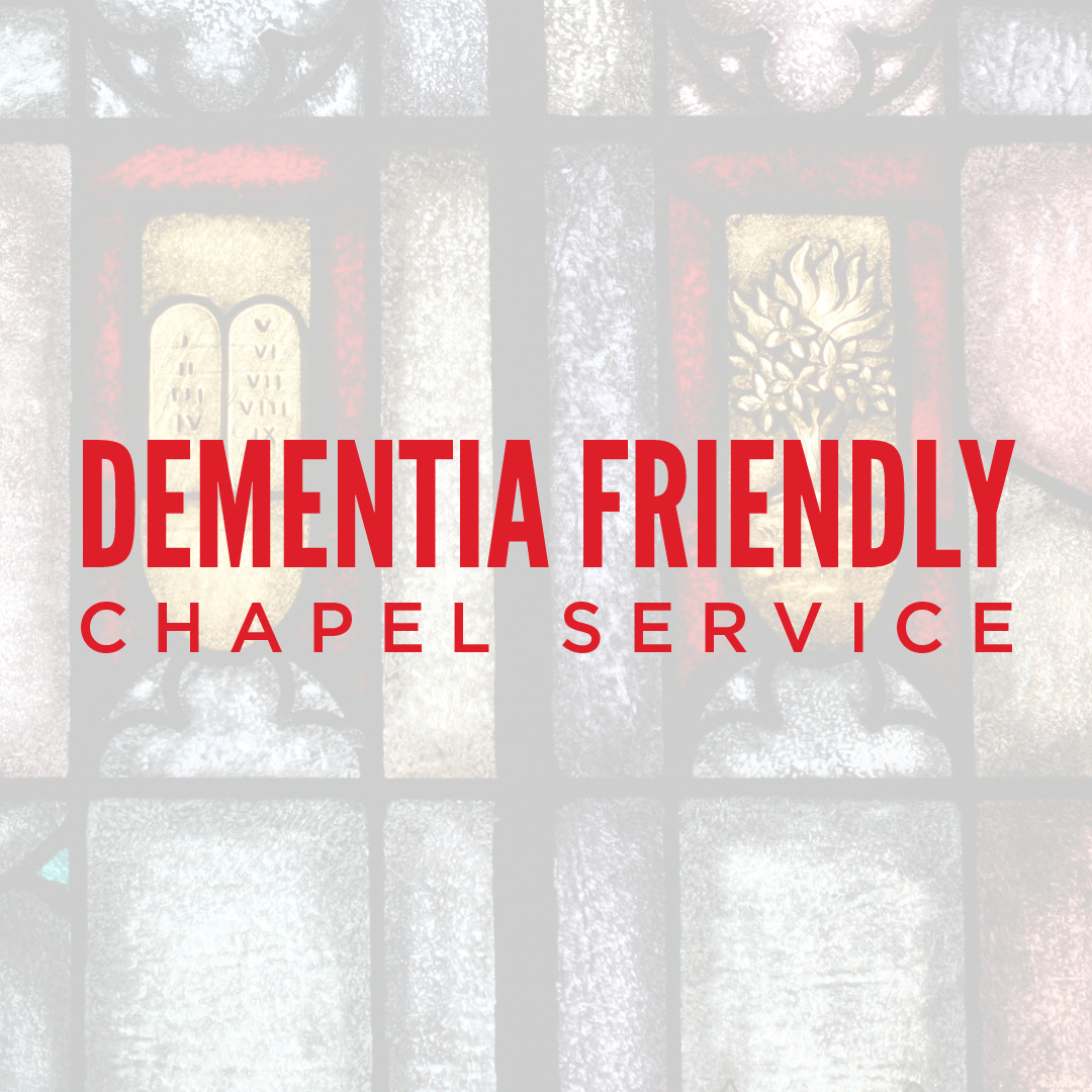 A Very Special Chapel Service EVERY Wednesday morning at First Church