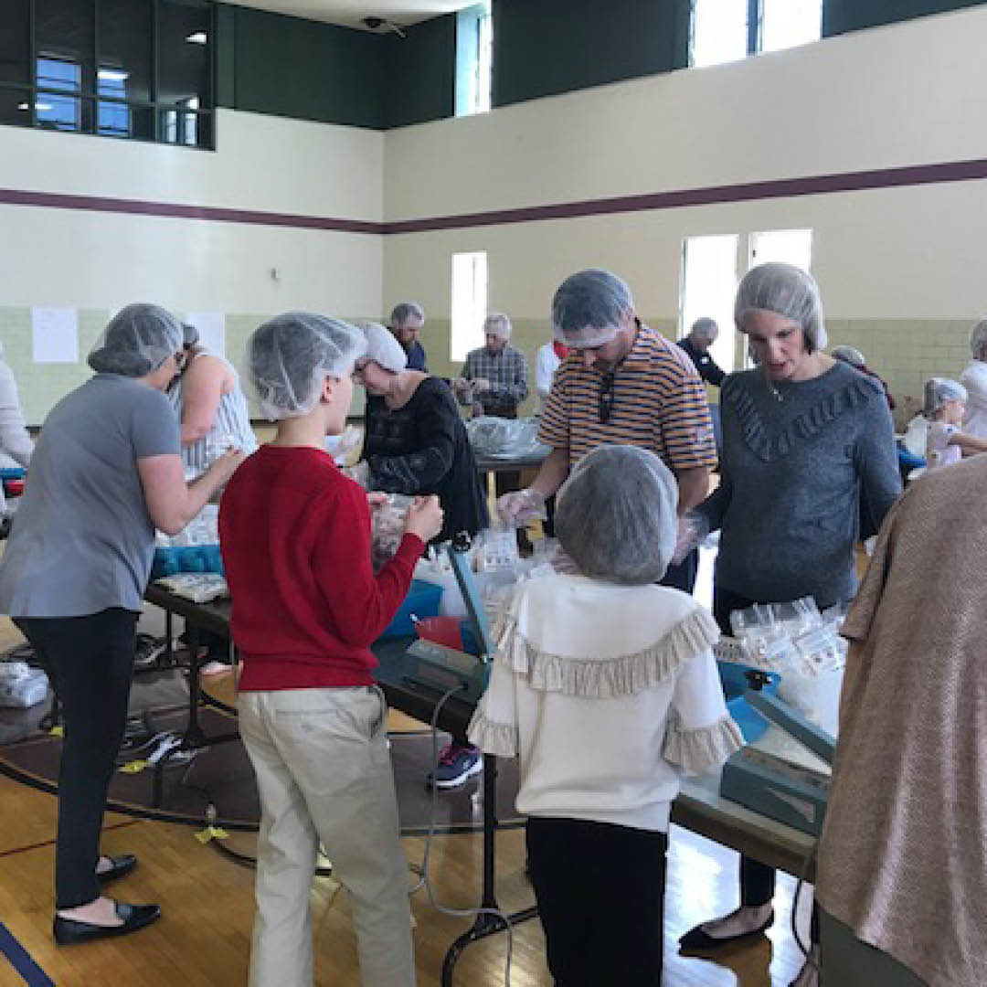 FUMCFW Packages 20,000 Meals for Rise Against Hunger