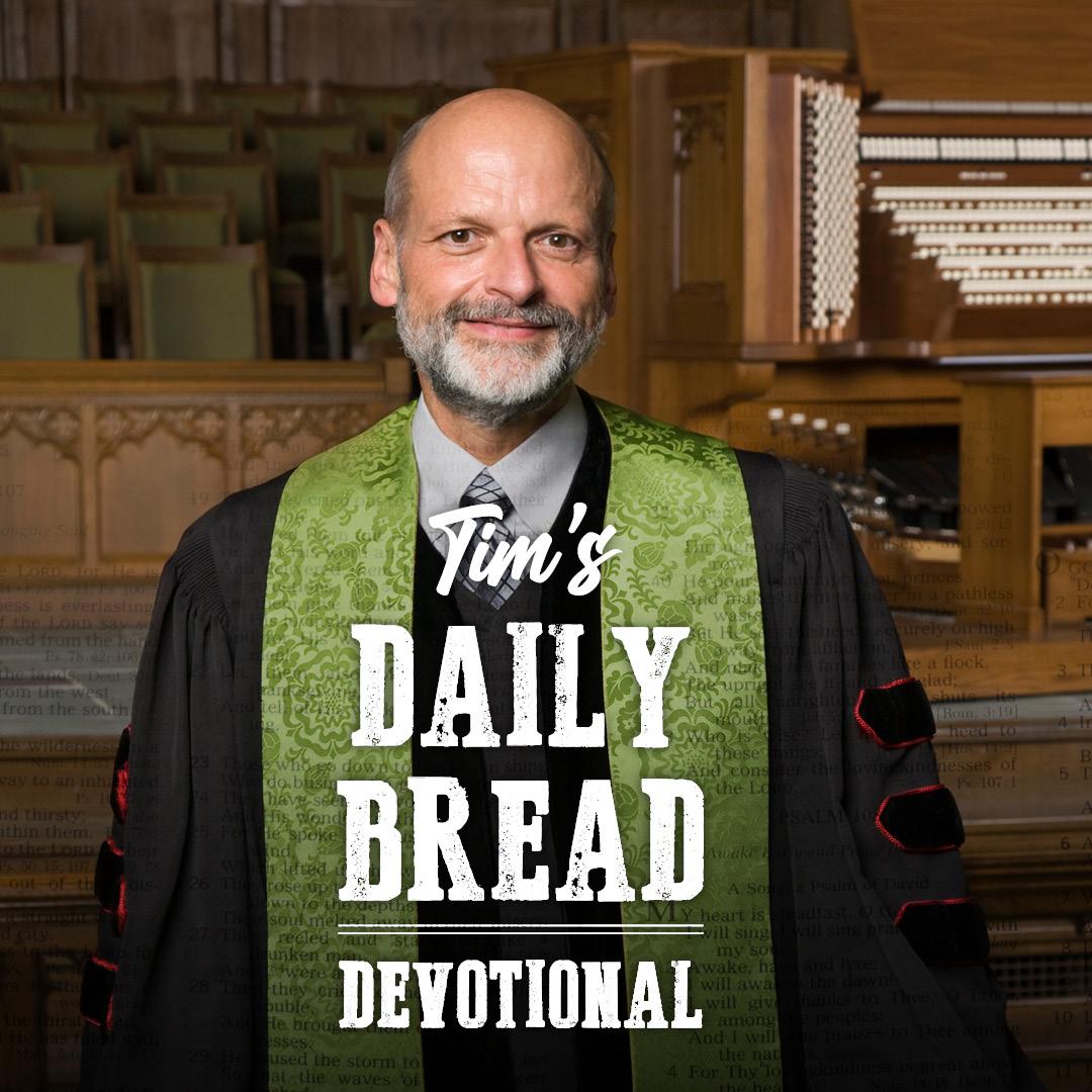 Tim's Daily Bread Devotional 9.18.21