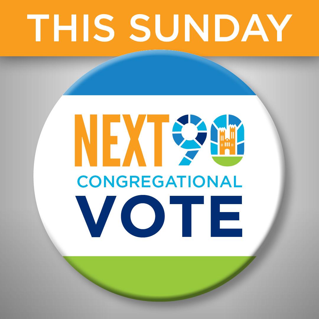 Next90 Vote is THIS Sunday!