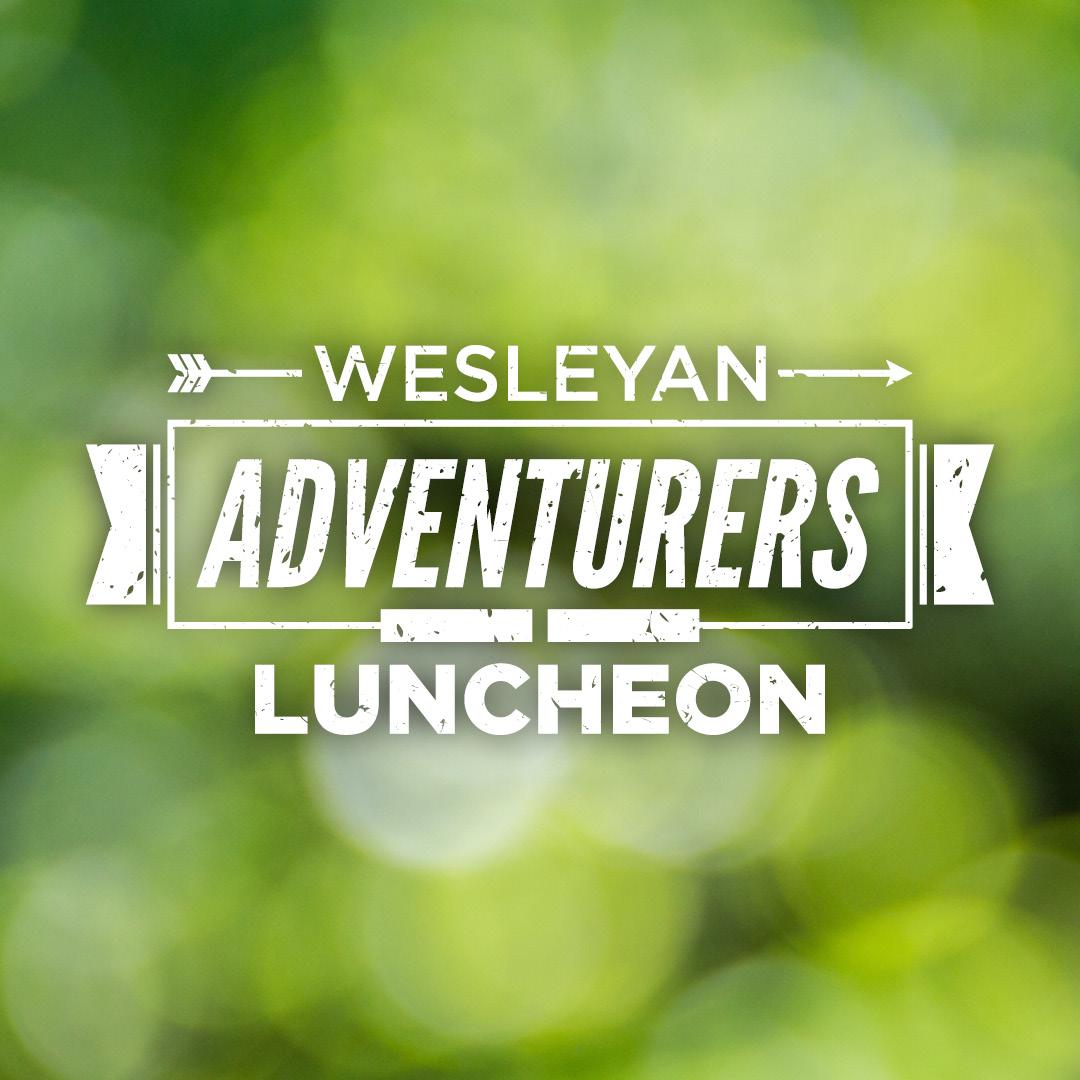 Wesleyan Adventurers Luncheon
